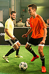 """Real Madrid player Nacho Fernandez during the presentation of the new pack of Adidas football shoes """"Speed of Light"""" in Madrid. September 16, 2016. (ALTERPHOTOS/Borja B.Hojas)"""