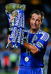 John Terry of Chelsea lifts the trophy after winning the Asia Trophy final match against Aston Villa at the Hong Kong Stadium on July 30, 2011 in So Kon Po, Hong Kong. Photo by Victor Fraile / The Power of Sport Images