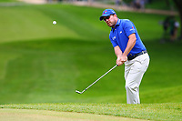 Richie Ramsey chips onto the 3rd green during the BMW PGA Golf Championship at Wentworth Golf Course, Wentworth Drive, Virginia Water, England on 28 May 2017. Photo by Steve McCarthy/PRiME Media Images.