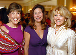 Cindy Garbs, Cathy Brock and Lisa Simon at the SPA Luncheon at the River Oaks Country Club Thursday Oct. 15,2009. (Dave Rossman/For the Chronicle)