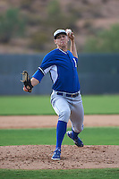 Kansas City Royals pitcher Cole Way (26) during an instructional league intersquad game on October 21, 2015 at the Papago Baseball Facility in Phoenix, Arizona.  (Mike Janes/Four Seam Images)