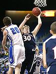 Coronado's Kennedy Koehler shoots over Carson's Tez Allen during the NIAA Division I state basketball tournament in Reno, Nev. on Thursday, Feb. 25, 2016. Cathleen Allison/Las Vegas Review-Journal