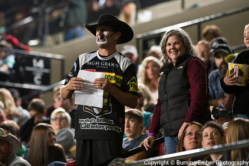 JJ Harrison at the NILE Rodeo 3rd Perf Oct 19th, 2019.  Photo by Josh Homer/Burning Ember Photography.  Photo credit must be given on all uses.