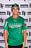 Kyle Sonandres (3) of West Torrance High School in Torrance, California during the Baseball Factory All-America Pre-Season Tournament, powered by Under Armour, on January 12, 2018 at Sloan Park Complex in Mesa, Arizona.  (Mike Janes/Four Seam Images)