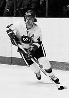Steve Marengere Ottawa 67's 1977. Photo Scott Grant
