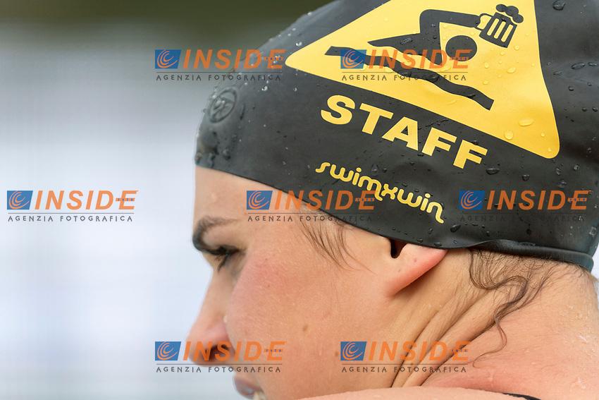warm up. riscaldamento . cuffia swimxwin <br /> Roma 25-06-2017 Stadio del Nuoto Foro Italico <br /> FIN 54mo Trofeo Sette Colli 2017 Internazionali d'Italia<br /> Photo Andrea Staccioli/Deepbluemedia/Insidefoto