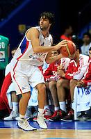 Milos Teodosic, during round 2, group E, basketball game between Serbia and Turkey in Vilnius, Lithuania, Eurobasket 2011, Sunday, September 11, 2011. (photo: Pedja Milosavljevic)