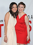 AUBREY PLAZA and Lena Dunham at The Universal Pictures' L.A. Premiere of This is 40 held at The Grauman's Chinese Theatre in Hollywood, California on December 12,2012                                                                               © 2012 Hollywood Press Agency