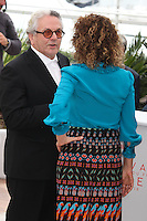 PRESIDENT OF THE JURY GEORGE MILLER AND VALERIA GOLINO - PHOTOCALL OF THE JURY AT THE 69TH FESTIVAL OF CANNES 2016