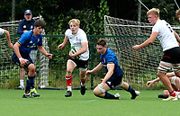 Saturday 5th September 2021<br /> <br /> Arthur Johnson during U19 inter-pro between Ulster Rugby and Leinster at Newforge Country Club, Belfast, Northern Ireland. Photo by John Dickson/Dicksondigital