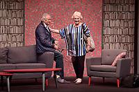 Alain DOUTEY, Marie-Christine BARRAULT - Filage de la piece 'CONFIDENCES' de Jody Pietro - 28 aout 2017 - Theatre Rive Gauche, Paris, France