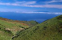 Spanien, Kanarische Inseln, El Hierro, Hochland bei San Andres