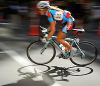Australia's Gillow Shara (Team Jayco). NZCT Women's Cycling Tour of New Zealand Stage 6 - Criterium at Lambton Quay, Wellington, New Zealand on Sunday, 27 February 2011. Photo: Dave Lintott / lintottphoto.co.nz