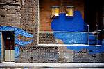 """Between two worlds"" by Jason Wing -  Street Art on Kimber Lane, Haymarket, NSW, Australia"