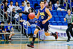 Joe Glen Matthew #13 of Winling Basketball Club dribbles the ball up court against the Nam Ching during the Hong Kong Basketball League game between Nam Ching vs Winling at Southorn Stadium on May 11, 2018 in Hong Kong. Photo by Yu Chun Christopher Wong / Power Sport Images