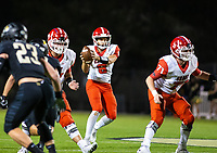 Tyler Gee (8) of  Cabot takes the ball against Bentonville at Tiger Stadium, Bentonville, Arkansas on Friday, November 20, 2020 / Special to NWA Democrat-Gazette/ David Beach