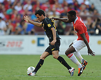 FC Barcelona vs Manchester United during the 2011 Herbalife World Football Challenge at FedEx Field, Washington DC, July 30, 2011.  The Manchester United defeated the FC Barcelona 2-1.
