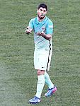 FC Barcelona's Luis Suarez during La Liga match. February 26,2017. (ALTERPHOTOS/Acero)