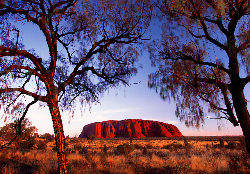 Ayers Rock Uluru Australia.