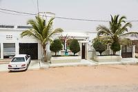 Senegal, Touba.  A Modern Home on the Outskirts of Touba.