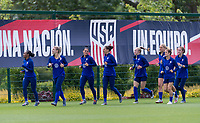 Enfield, ENG - May 30, 2019:  The USWNT trains at the Tottenham training ground in North London.