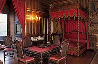 Europe/France/Aquitaine/64/Pyrénées-Atlantiques/Pau: Le musée du château - Chambre d'Henri IV