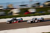 #18: Noah Gragson, Kyle Busch Motorsports, Toyota Tundra Safelite AutoGlass and #54: David Gilliland, DGR-Crosley, Toyota Tundra Crosley Brands / DGR CROSLEY