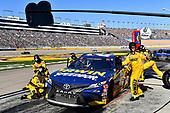#20: Erik Jones, Joe Gibbs Racing, Toyota Camry Irwin SPEEDBOR