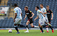 Bolton Wanderers' Craig Noone under pressure from  Blackburn Rovers' Ryan Nyambe, Jack Rodwell and  Lewis Travis <br /> <br /> Photographer Andrew Kearns/CameraSport<br /> <br /> The EFL Sky Bet Championship - Blackburn Rovers v Bolton Wanderers - Monday 22nd April 2019 - Ewood Park - Blackburn<br /> <br /> World Copyright © 2019 CameraSport. All rights reserved. 43 Linden Ave. Countesthorpe. Leicester. England. LE8 5PG - Tel: +44 (0) 116 277 4147 - admin@camerasport.com - www.camerasport.com