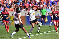 Houston, TX - Sunday Oct. 09, 2016: Lynn Williams during a National Women's Soccer League (NWSL) Championship match between the Washington Spirit and the Western New York Flash at BBVA Compass Stadium.