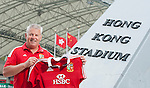 HONG KONG - JANUARY 15; Warren Gatland, head coach of the British & Irish Lions poses for pictures during an HSBC photo call at the Hong Kong Stadium on 15 January 2013 in Hong Kong. The British & Irish Lions play the first match of their 2013 Tour against the Barbarians on 1st June 2013 in Hong Kong. HSBC is proud Principal Partner of The British & Irish Lions. Photo by Victor Fraile