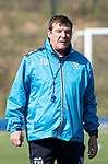 St Johnstone Training…31.08.18<br />Manager Tommy Wright pictured during training at McDiarmid Park ahead of tomorrow's game at Hamilton<br />Picture by Graeme Hart.<br />Copyright Perthshire Picture Agency<br />Tel: 01738 623350  Mobile: 07990 594431