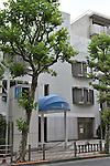 The building of talent agency Johnny & Associates is seen in Tokyo, Japan on August 14, 2016. The five-member Japanese pop group SMAP will break up at the end of the year after a 25-year career, their management announced on Sunday. (Photo by AFLO)