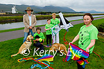 Tralee Branch of the Irish Guide Dogs for the Blind launching their Kite Fest in Tralee on Tuesday which will be held on Inch Beach on Sunday 12th September. Front right: Ciara Buckley. Back l to r: Jonathan Bradshaw, Judi Pheysey, Eric Buckley and Betty O'Doherty.
