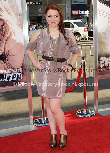 Jennifer Stone at the Warner Bros. Pictures' L.A. Premiere of Going the Distance held at The Grauman's Chinese Theatre in Hollywood, California on August 23,2010                                                                               © 2010 Hollywood Press Agency