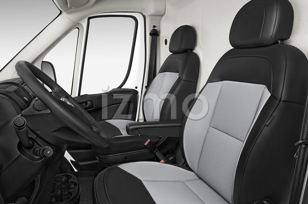 Front seat view of a 2015 Ram Promater 1500 118 Wb  4 Door Cargo Van front seat car photos