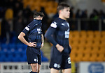 St Johnstone v Dundee….03.04.19   McDiarmid Park   SPFL<br />John O'Sullivan and Jesse Curran at full time<br />Picture by Graeme Hart. <br />Copyright Perthshire Picture Agency<br />Tel: 01738 623350  Mobile: 07990 594431