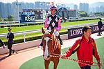 SHA TIN, HONG KONG – December 8:3 Beauty Applause, ridden by Joao Moreira wins the Able Friend Handicap on Longines Hong Kong International Race Meeting at Sha Tin Racecourse in Hong Kong. Michael McInally/Eclipse Sportswire/CSM