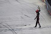 NASCAR Xfinity Series<br /> Fitzgerald Glider Kits 300<br /> Bristol Motor Speedway, Bristol, TN USA<br /> Saturday 22 April 2017<br /> Erik Jones, Reser's American Classic Toyota Camry celebrates his win with a burnout<br /> World Copyright: Nigel Kinrade<br /> LAT Images<br /> ref: Digital Image 17BRI1nk07023