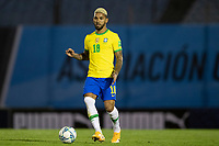17th November 2020; Centenario Stadium, Montevideo, Uruguay; Fifa World Cup 2022 Qualifying football; Uruguay versus Brazil; Douglas Luiz of Brazil