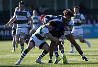 Match action during the Greene King IPA Championship match between Ealing Trailfinders and Coventry at Castle Bar , West Ealing , England  on 20 October 2018. Photo by Harry Hubbard/PRiME Media Images.