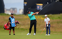 160719 | The 148th Open - Tuesday Practice<br /> <br /> Francesco Molinari of Italy on the 2nd during practice for the 148th Open Championship at Royal Portrush Golf Club, County Antrim, Northern Ireland. Photo by John Dickson - DICKSONDIGITAL