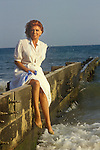 Pat Phoenix, Coronation Street actress who played Elsie Tanner. Summer Season in Bournmouth UK.  Late 1980s or early 1990s.