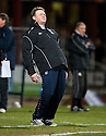 23/03/2010 Copyright  Pic : James Stewart.sct_jspa19_dundee_v_qots  .::  DUNDEE MANAGER GORDON CHISHOLM   ::  .James Stewart Photography 19 Carronlea Drive, Falkirk. FK2 8DN      Vat Reg No. 607 6932 25.Telephone      : +44 (0)1324 570291 .Mobile              : +44 (0)7721 416997.E-mail  :  jim@jspa.co.uk.If you require further information then contact Jim Stewart on any of the numbers above.........