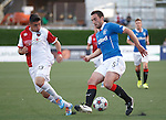Lee Wallace and Andres Fresenga