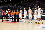 Real Madrid and Bayern Munich during the 4th match of the Turkish Airlines Euroleague at Barclaycard Center in Madrid, Spain, November 05, 2015. <br /> (ALTERPHOTOS/BorjaB.Hojas)