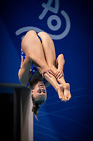 G.GULLSTRAND Emma<br /> Diving - Women's 3m preliminary<br /> XXXV LEN European Aquatic Championships<br /> Duna Arena<br /> Budapest  - Hungary  15/5/2021<br /> Photo Giorgio Perottino / Deepbluemedia / Insidefoto
