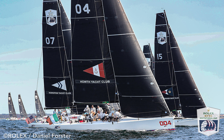 Counting two 16s and a 14 in the first three races, Howth Yacht Club are lying 19th overall