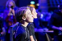 Rotterdam, The Netherlands, Februari 8, 2016,  ABNAMROWTT, Ball-boy<br /> Photo: Tennisimages/Henk Koster