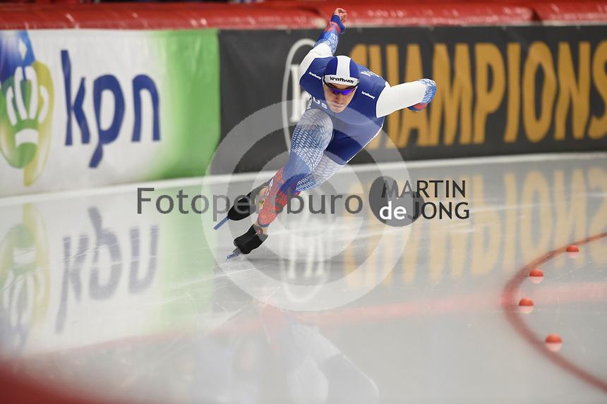 SPEEDSKATING: INZELL: Max Aicher Arena, 08-02-2019, ISU World Single Distances Speed Skating Championships, 500m Men, Ruslan Murashov (RUS), ©photo Martin de Jong